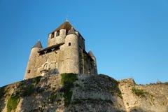 Turnera César av medeltida Provins i Frankrike royaltyfri fotografi