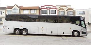 Turnera charterbussen Fotografering för Bildbyråer