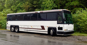 Turnera charterbussen Arkivbilder