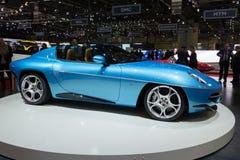 Turnera den Superleggera diskoVolante Spyder bilen Arkivfoto