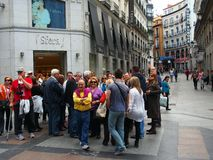 Turnera gruppen, Madrid royaltyfri bild