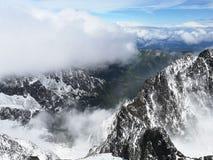 Turnera h?ga Tatras fotografering för bildbyråer