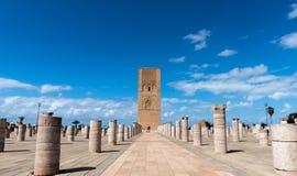 Turnera Hassan Rabat Morocco Royaltyfri Fotografi