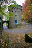 Turnera Malakoff i staden av Luxembourg Royaltyfri Bild