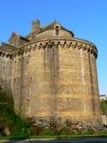 Turnera Surienne, Fougeres (Frankrike) Arkivbild