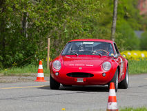 turnera tappning för bilfiatrace Arkivbild