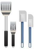 Turners and spatulas Stock Photography