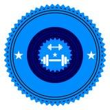 Turnhallen-Logo lizenzfreie abbildung