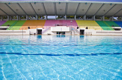 Turniejowy basen. Obraz Royalty Free