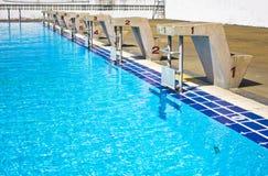 Turniejowy basen. Zdjęcia Royalty Free