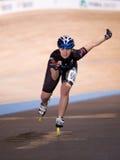 turniejowy speedskating Fotografia Stock