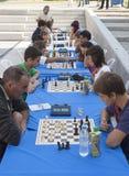 Turnieju szachowy Maraton Fotografia Royalty Free