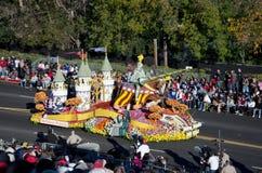 Turnier 2012 der Rose-Parade Lizenzfreies Stockfoto