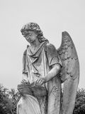 Turning Angel Statue at Natchez City Cemetery Royalty Free Stock Image