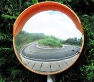 Turning angle mirror Stock Photos