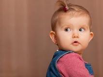 Turning back toddler Stock Photography