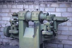 Turning equipment machinery factory old Royalty Free Stock Photography