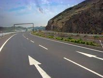 Turning Expressway Royalty Free Stock Photography