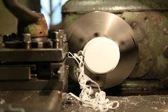 Turning lathe Royalty Free Stock Photos