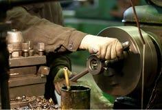 Turning lathe Stock Photography