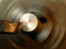 Turning lathe Royalty Free Stock Photography