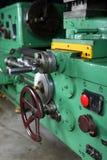 Turning lathe. Huge turning lathe in a repair workshop Royalty Free Stock Photo