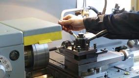 Turning lathe. Footage stock video footage