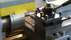 Turning lathe. Footage. Turning lathe, footage Full HD stock footage