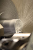 Turning Lathe In Action Royalty Free Stock Photo