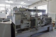 Turning lathe. Royalty Free Stock Photo
