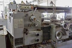 Turning lathe. Stock Image