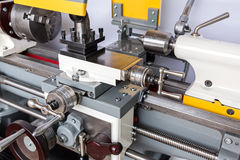 Turning lathe machine Stock Image