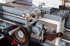 Turning lathe machine Royalty Free Stock Photos