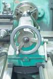 Turning and lathe machine Stock Photos