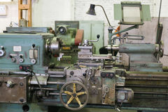 Turning machine Stock Photography
