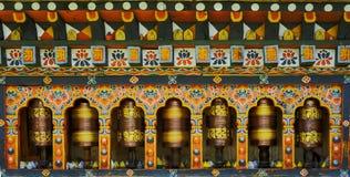 Turning Mantra in Bhutan Stock Photo