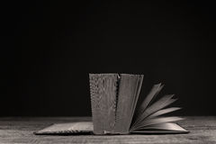 Turning pages over Royalty Free Stock Photo