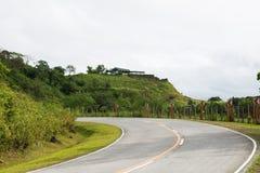 Turning roads Stock Images