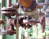 Turning rust Royalty Free Stock Images