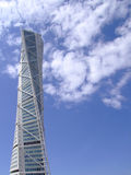 Turning Torso 01. A view of the turning torso twisted tower block in malmo Stock Photography