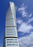 Turning Torso 12. A view of the turning torso twisted tower block in malmo Stock Photography