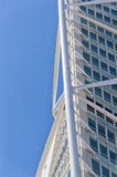 Turning Torso 14. A view of the turning torso twisted tower block in malmo Royalty Free Stock Images
