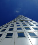 Turning Torso. An upward view of the turning torso twisted tower block in malmo Royalty Free Stock Photography
