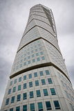 Turning Torso building. MALMO, SWEDEN - SEPTEMBER 17: Turning Torso buildong on September 17 , 2015 in Malmo, Sweden. Turning Torso is a skyscraper designed by Stock Photography