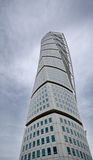 Turning Torso building. MALMO, SWEDEN - SEPTEMBER 17: Turning Torso building on September 17 , 2015 in Malmo, Sweden. Turning Torso is a skyscraper designed by Stock Photos