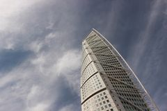 Turning Torso Malmö stock photography