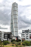 Turning torso in Malmo. Sweden Royalty Free Stock Images