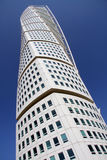 Turning Torso Malmo Sweden. Iconic turning torso skyscraper in malmo sweden Stock Photos