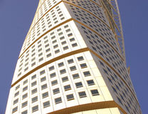 Turning Torso in Malmoe Royalty Free Stock Photography