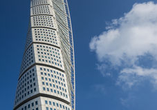 Turning Torso, Malmoe, Sweden Royalty Free Stock Photography